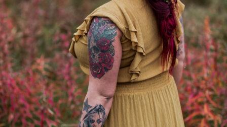 brudfrisyr med rött hår